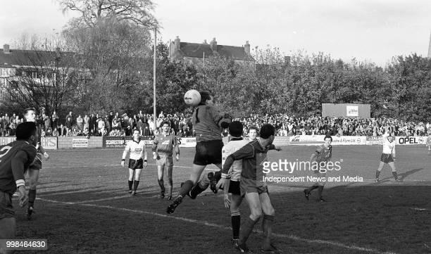 Dundalk Vs St Patrick's Athletic League of Ireland Premier Division at Richmond Park, . .
