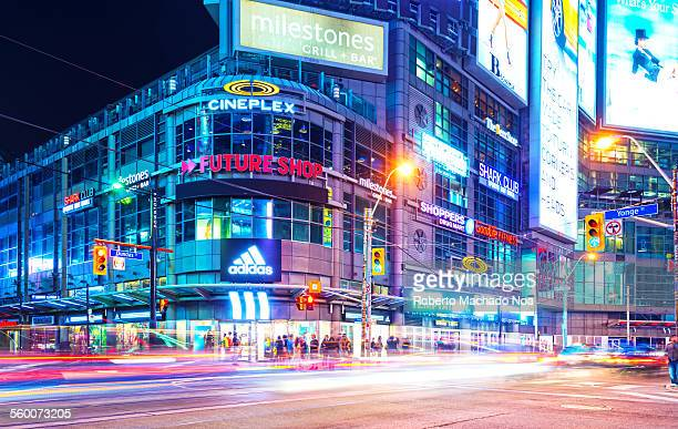 Dundas Square at Intersection of Yonge and Dundas