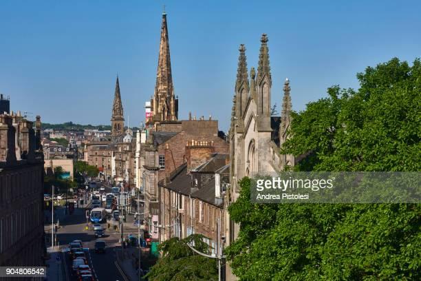 Dundee cityscape, Scotland