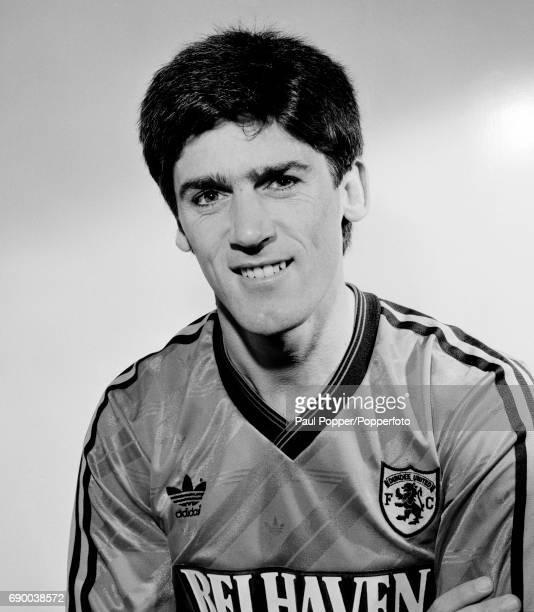 Dundee United footballer Alan Irvine, circa 1988.
