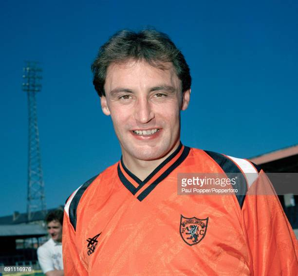 Dundee United footballer Maurice Maplas at Tannadice in Dundee circa August 1990