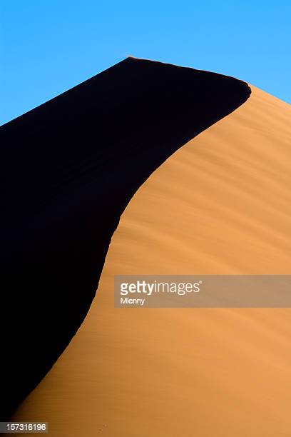dune 45 sand dune detail namib - mlenny stock-fotos und bilder