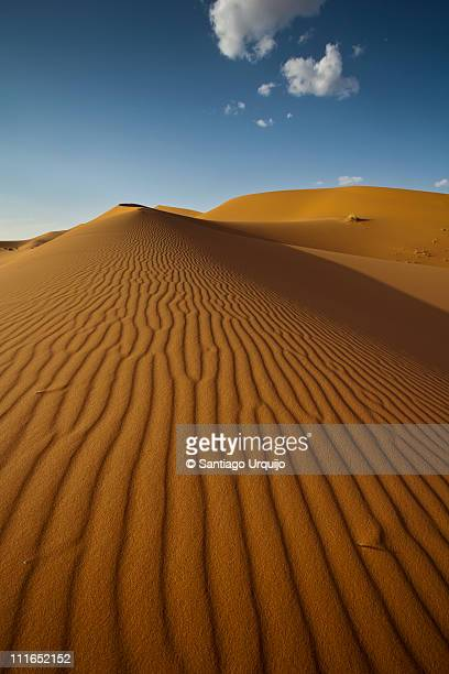 dune and cloud - merzouga stock pictures, royalty-free photos & images