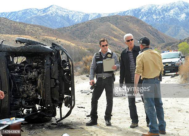 """Dune and Gloom"""" -- D.B. Russell and Nick Stokes during an investigation, on CSI: CRIME SCENE INVESTIGATION, Wednesday, May 2 on the CBS Television..."""