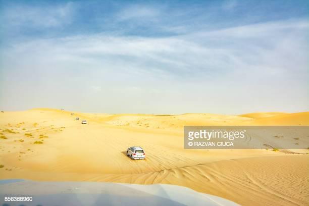 Dune bashing