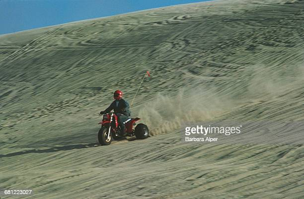 Dune buggies in Florence, Oregon, September 1987.