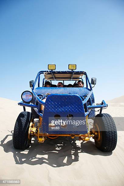 Dune buggy riding in Peruvian desert