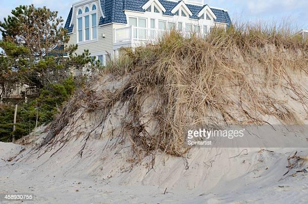 Dune Destruction Resulting from Hurricane Sandy
