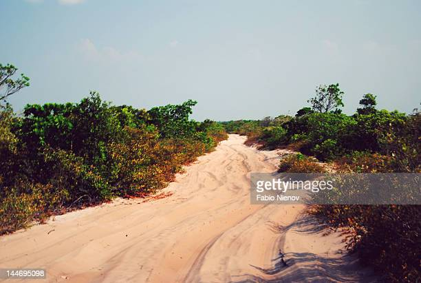 dune ecosystem in brazil - barreirinhas stock pictures, royalty-free photos & images