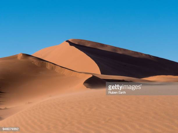 dune in the sahara desert - merzouga stock pictures, royalty-free photos & images