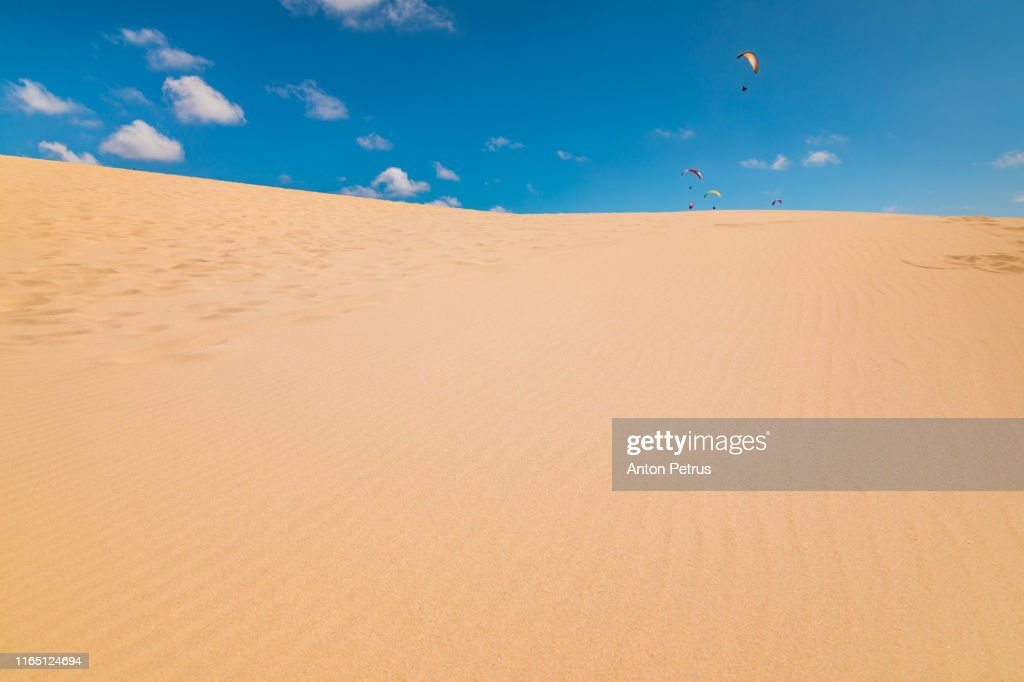 Dune Of Pilat Arcachon Bay Aquitaine France High Res Stock Photo