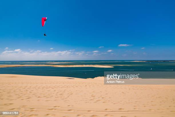 Dune of Pilat -  sand dune, Arcachon Bay, Aquitaine, France, Atlantic Ocean