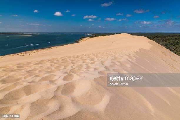 Dune of Pilat -  sand dune, Arcachon Bay, Aquitaine, France, Atlantic Ocean