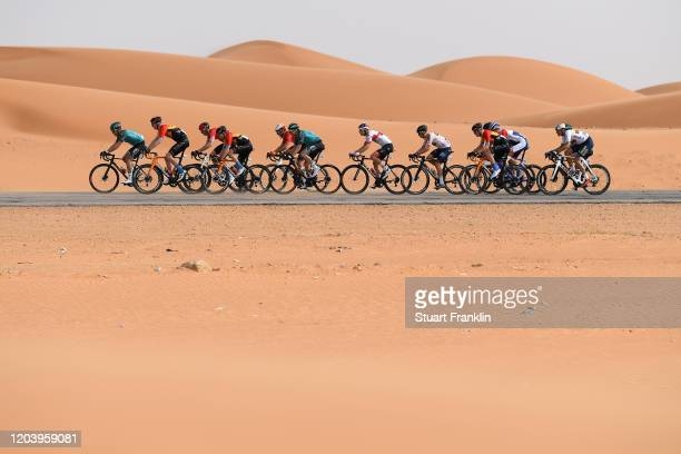 Dune / Peloton / Desert / eduring the 1st Saudi Tour 2020, Stage 1 a 173km stage from Saudi Arabian Olympic Committee to Jaww / #SaudiTour / on...