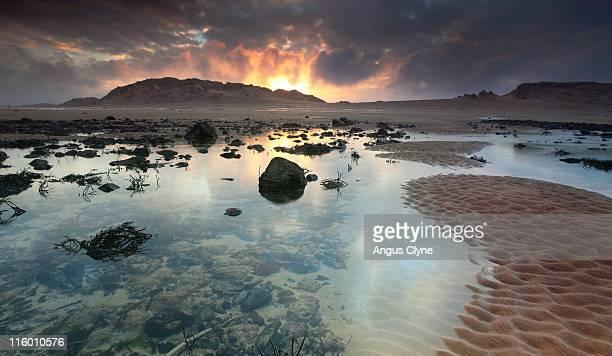 Dunes and beach Aberdeenshire Scotland