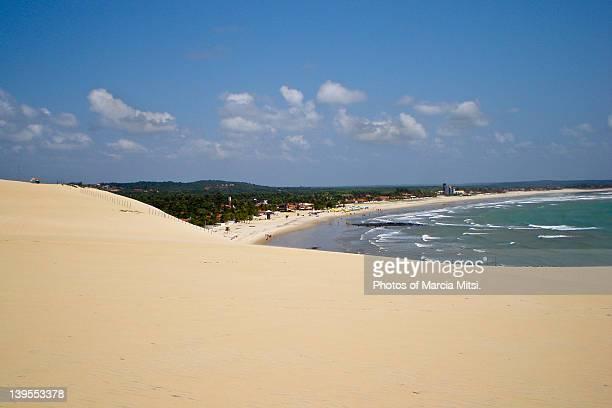 Dunes and beach in northeastern Brazil
