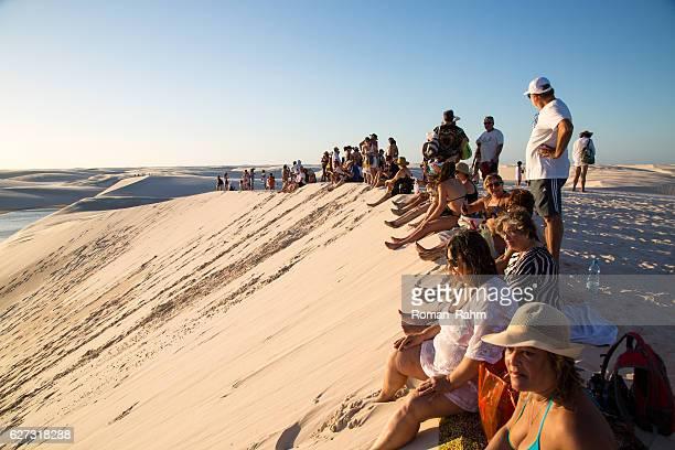dunes of lençois maranhenses, maranhão, brazil - sao luis stock pictures, royalty-free photos & images