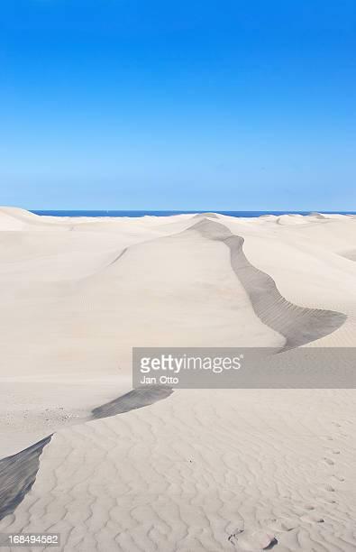 Dunes of Maspalomas on Gran Canaria