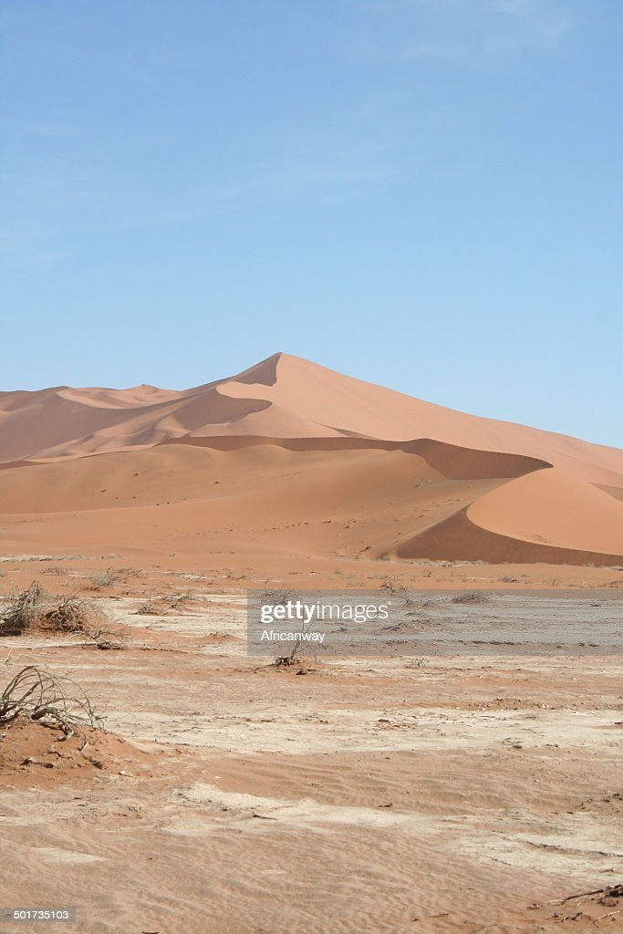 Dunes Of Sossusvlei Big Daddy Namib Desert Namibia Africa