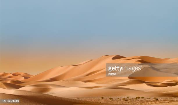 dunes - desert stock pictures, royalty-free photos & images