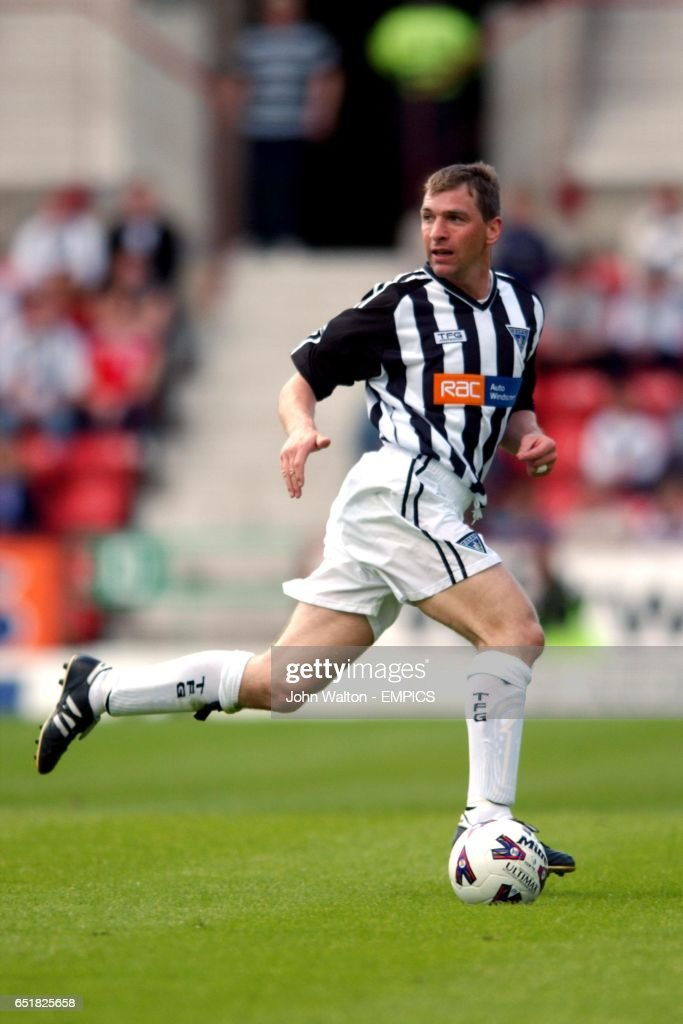 Dunfermline Athletic's Stewart Petrie