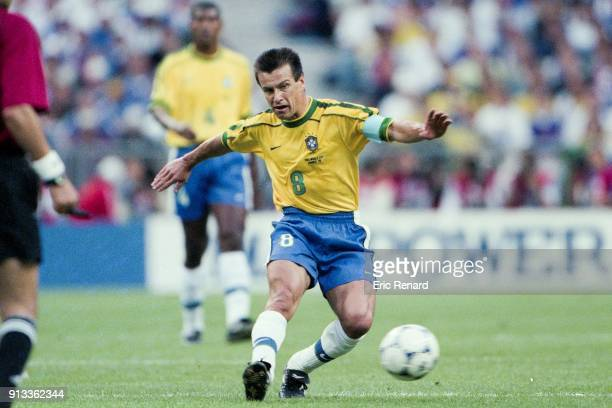 Dunga of Brazil during the Soccer World Cup Final between Brazil and France on July 12 1998 in Paris Saint Denis, France. Photo : Eric Renard / Onze...
