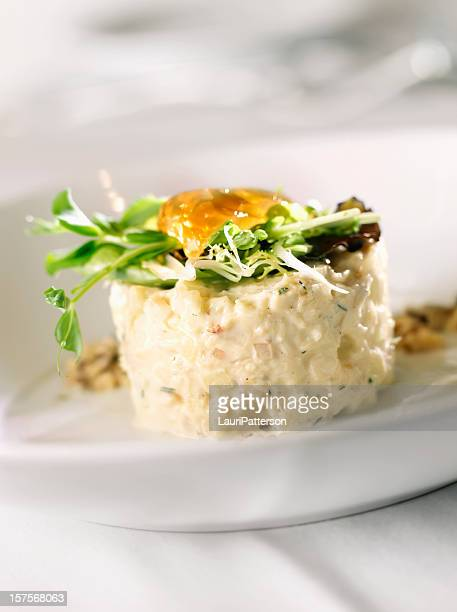 dungeness crab waldorf salad - crab stock photos and pictures