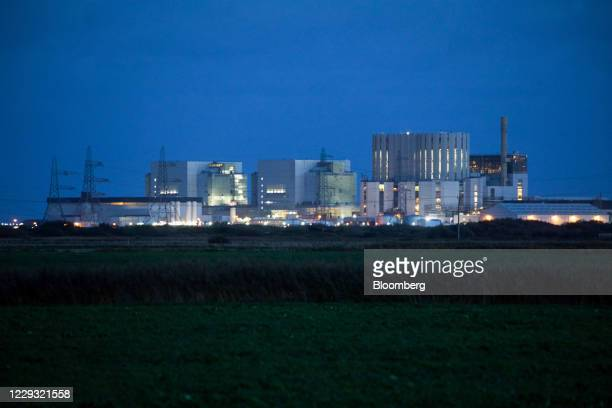 Dungeness nuclear power plant, operated by Electricite de France SA , in Dungeness, U.K., on Monday, Oct. 26, 2020. The U.K.'s power supply buffer is...