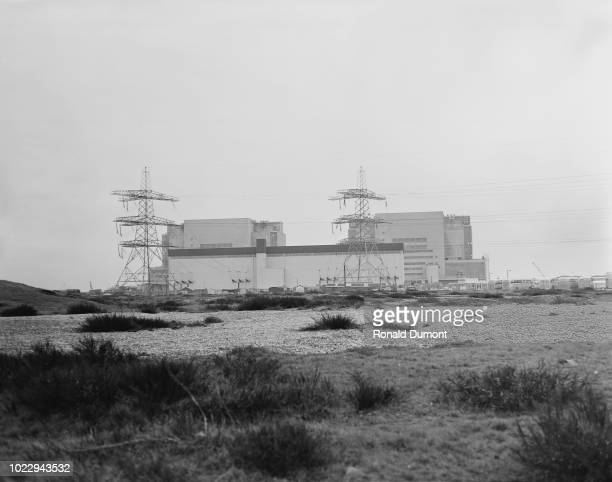 Dungeness Nuclear Power Station Kent UK 30th December 1965