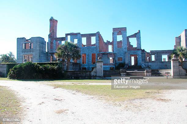 Dungeness ruins Cumberland Island National Seashore 18th 19th Century ruins