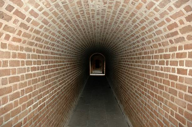 Dungeon Tunnel in Fort Clinch Amelia Island