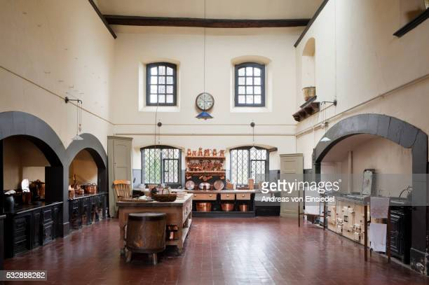 dunham massey - aga cooker stock pictures, royalty-free photos & images