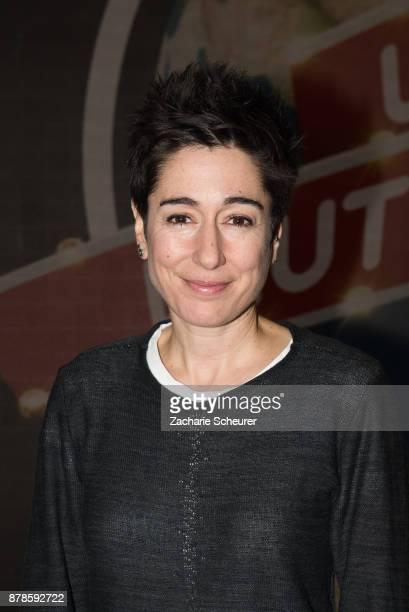 Dunja Hayali at the 'Weltreise Deutschland Die Show' Photo Call at Fernsehwerft Berlin on November 24 2017 in Berlin Germany