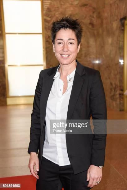 Dunja Hayali attends the CIVIS Media Award 2017 on June 1 2017 in Berlin Germany