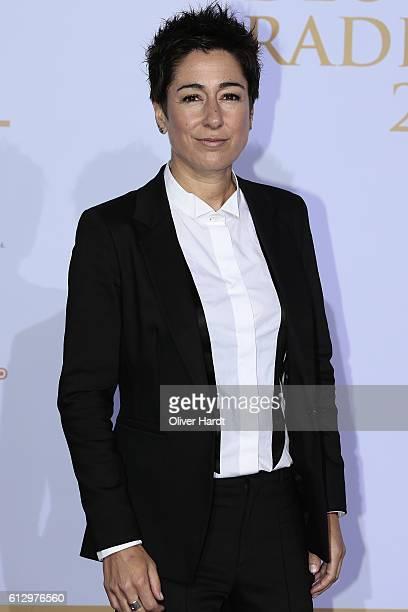 Dunja Hayali attends the Deutscher Radiopreis at Schuppen 52 on October 6 2016 in Hamburg Germany