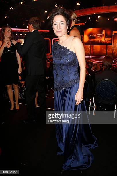 Dunja Hayali attends the German TV Award 2012 at Coloneum on October 2 2012 in Cologne Germany
