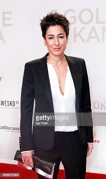 Dunja Hayali attends the Goldene Kamera 2016 on February 6 2016 in Hamburg Germany