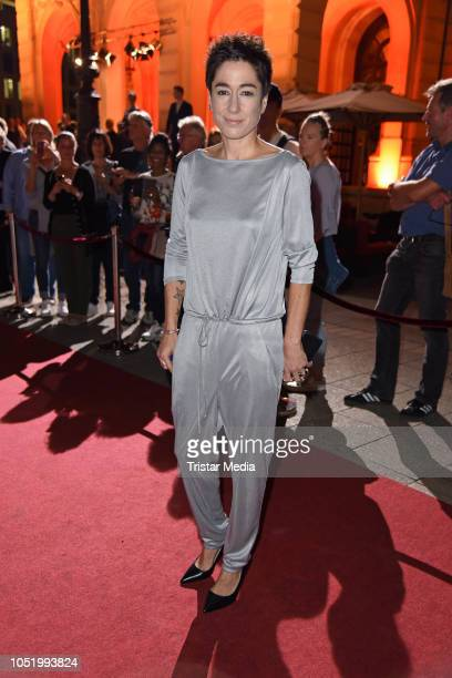 Dunja Hayali during the Hessian Film and Cinema Award at Alte Oper on October 12 2018 in Frankfurt am Main Germany