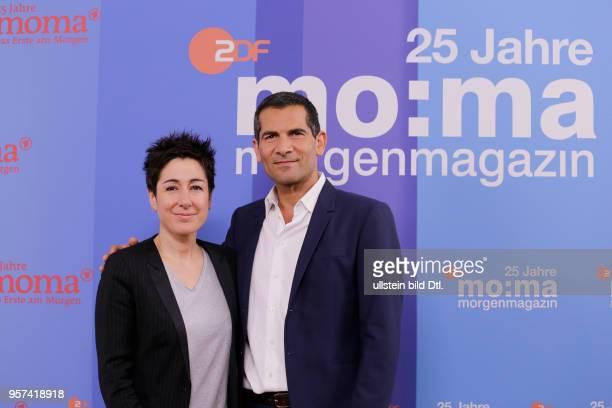 Dunja Hayali Mitri Sirin Berlin Foto und Interviewtermin zu 25 Jahre 'MoMa'