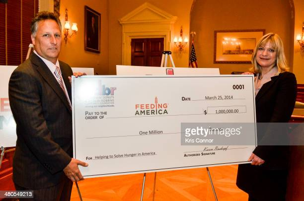 Dunkin' Brands Franchisee, NY and Board of Directors Co-Chair of The Dunkin' Donuts & Baskin-Robbins Community Foundation Mitch Cohen and Feeding...