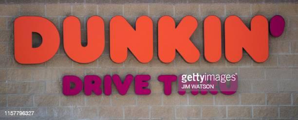 Dunkin' Donuts chain restaurant in Middletown DE on July 26 2019