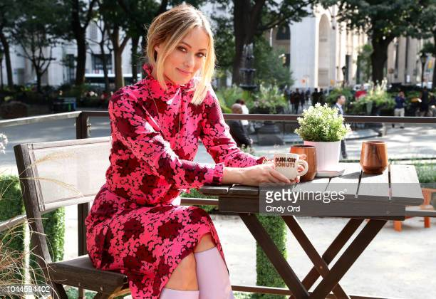 Dunkin' Donuts Coffee at Home and Olivia Wilde team up to reimagine coffee at home in Madison Square Park at a tiny house that runs on recycled...
