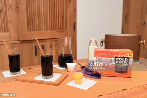 Dunkin' Donuts® Coffee at Home launch Its new Cold Brew Coffee Packs on August 24 2017 in New York City