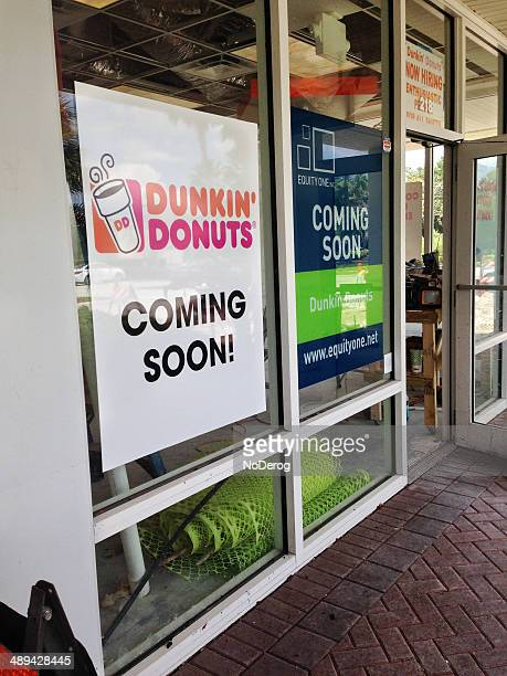 Dunkin Donuts Coming Soon