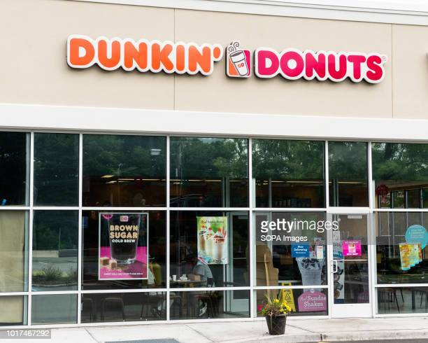 Dunkin' Donuts store in North Brunswick Township New Jersey