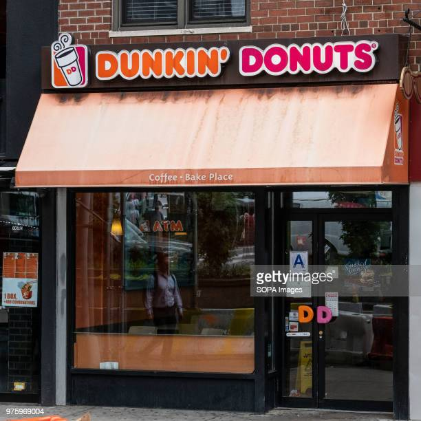 Dunkin' Donuts store in Union Square in New York City