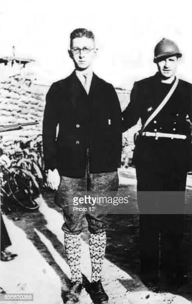Dunkirk arrest of a member of the 5th German column May 1940 France World War II Paris Bibliothèque nationale