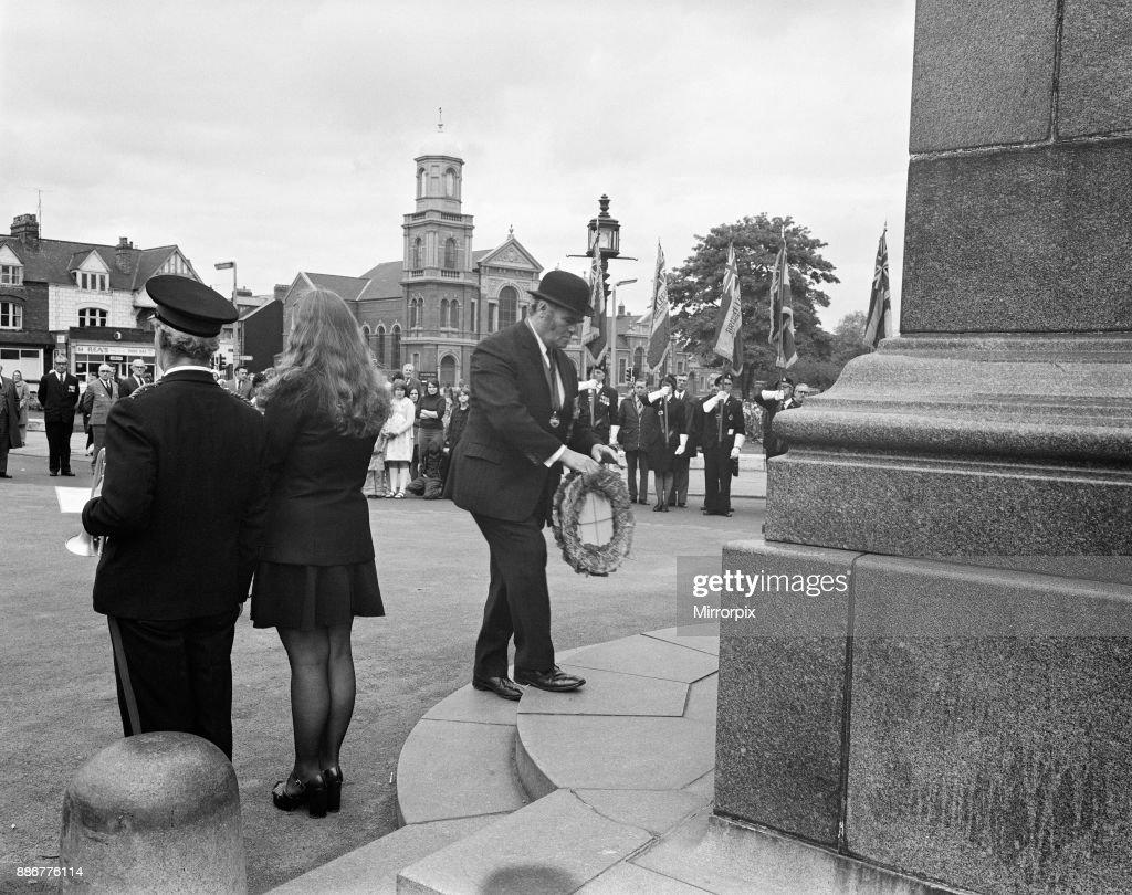 Dunkirk parade, circa 1975 : ニュース写真