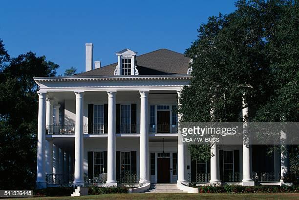 Dunleith House historic antebellum mansion Natchez Mississippi United States of America