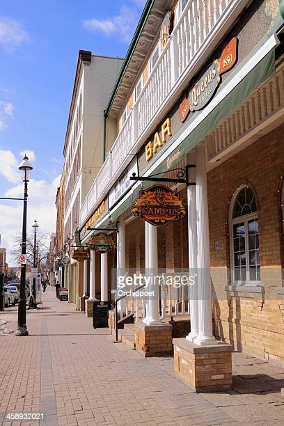 dunlop street east - barrie stock pictures, royalty-free photos & images